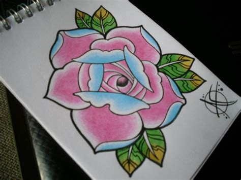 tattoo flash rose rose tattoo flash design by frosttattoo on deviantart