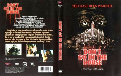 don t go in the house don t go in the house 1979