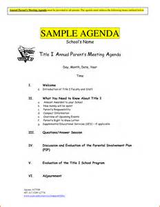 5 meeting agenda sample divorce document