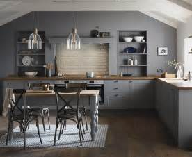 Howdens Kitchen Cabinets fairford slate grey kitchen shaker kitchens howdens
