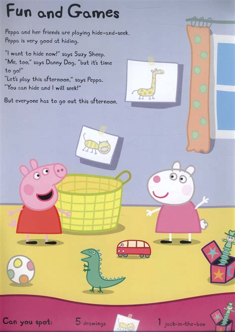 peppa pig hide and peppa pig hide and seek a search and find book by astley neville 9780723293125 brownsbfs