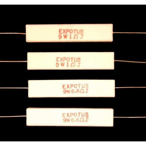 ceramic resistor network ceramic wire wound resistors for loudspeaker crossovers and networks 9 watt from falcon