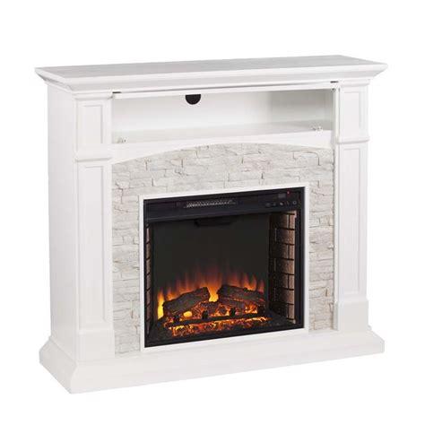 southern enterprises seneca faux stone electric fireplace