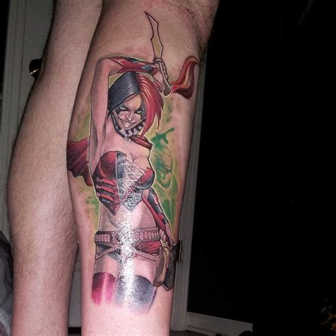 harley quinn tattoos 65 cool harley quinn tattoos