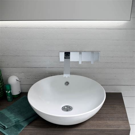 mobili da bagno con lavabo mobile bagno con lavabo in appoggio atlantic arredaclick