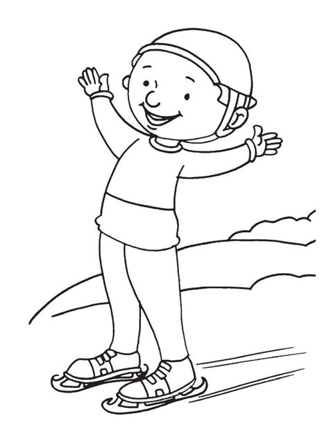 outdoor people coloring pages
