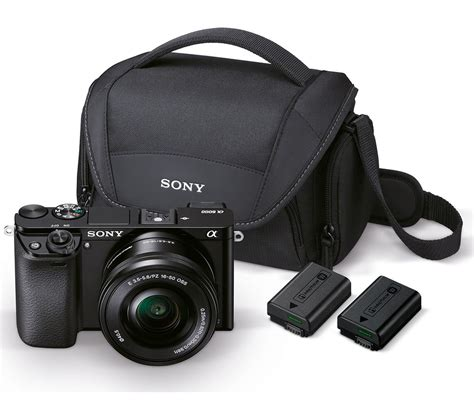 buy mirrorless buy sony a6000 mirrorless with 16 50 mm f 3 5 5 6