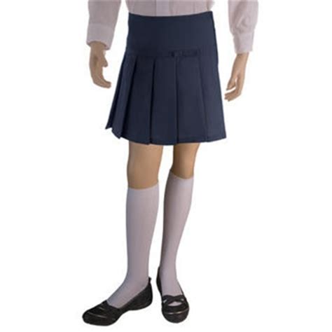 wholesale s school scooter skirt in navy blue