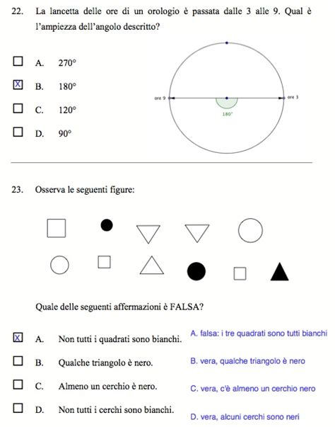 test ingresso matematica seconda media come risolvere alcune prove invalsi per la prima media