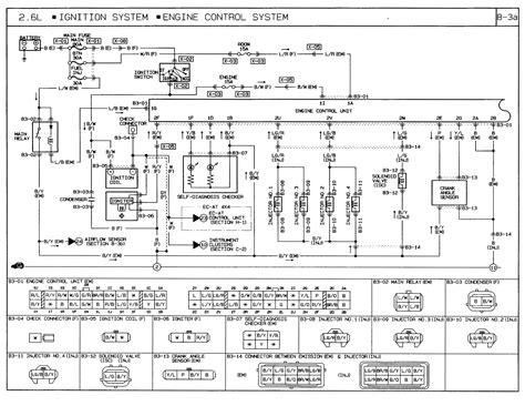 mazda b2600 wiring diagram mazda free engine image for