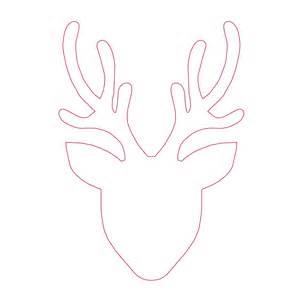 template for reindeer head bestsellerbookdb
