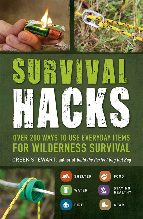 The Book Of Hacks survival hacks ebook by creek stewart official publisher