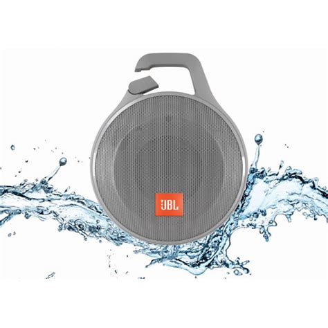 Jbl Clip Splashproof Portbale Blietooth Speaker jbl clipplusgray clip portable bluetooth splashproof