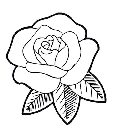 gambar bunga mawar hitam putih  diwarnai