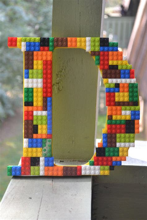 Legos nursery wooden letters home from artcreationsbyjess on
