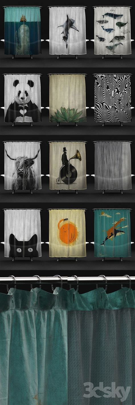 3d Models Bathroom Accessories Le Petet Marseiliais 01 3d Models Bathroom Accessories Shower Curtains From