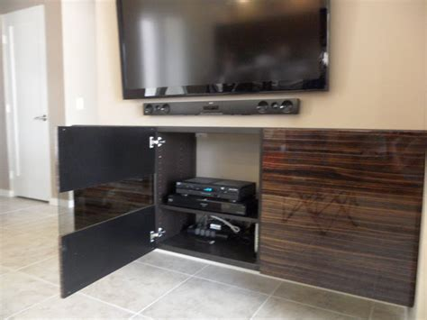 hanging besta cabinets besta floating media cabinet with flat panel tv ikea