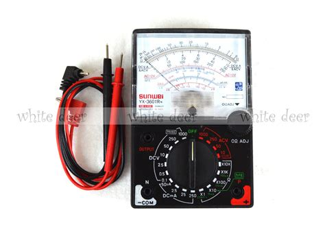 fuse diode protection yx 360tr n analogue meter multimeter multitester fuse diode protection dc ac ebay