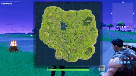 fortnite original map fortnite gets 100 player battle royale gamemode