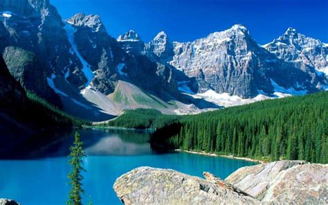 Wallpapers Backgrounds Canada Wallpaper Background Banff