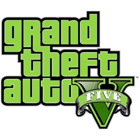 Grand Theft Auto 5 Logo Png by The Gallery For Gt Gta Logo