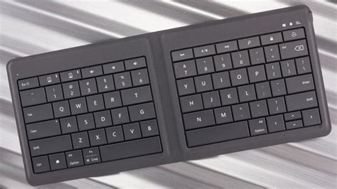 Microsoft Universal Foldable Keyboard microsoft universal foldable keyboard review rating pcmag