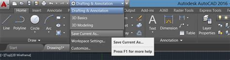 reset toolbars autocad autocad 2016 restoring the classic workspace cadline