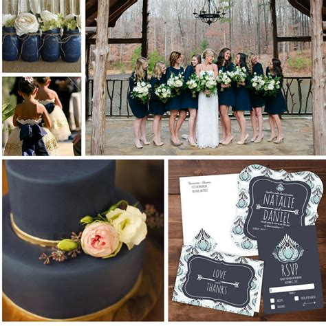 September Wedding Idea by Fall Wedding Ideas A Rustic September Wedding In Navy Us23