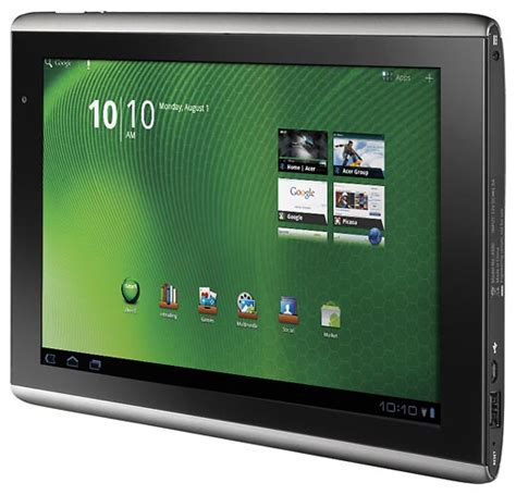 acer android tablet acer iconia tab a500 android tablet gadgetsin