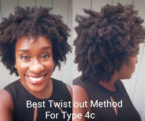 Curly Method For Type 4 Hair by How To Make Twist Out Definition Last For 4c Hair