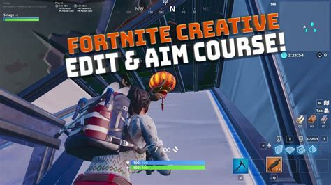 creative mode shotgun aim  edit courses fortnite