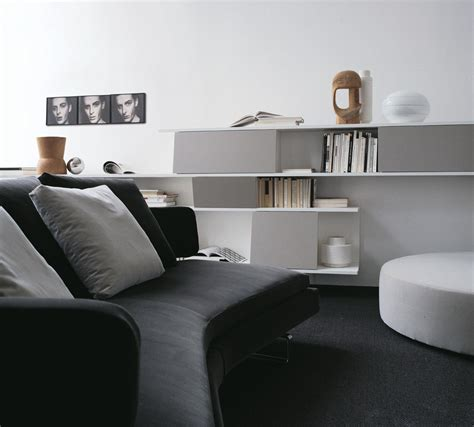 monochrome lounge decor interior design ideas