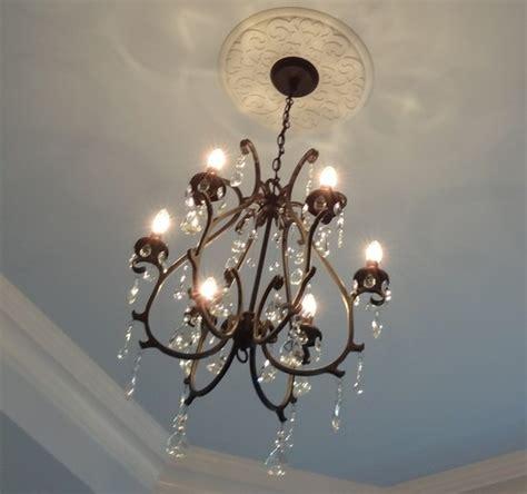 pottery barn celeste chandelier master bedroom redo