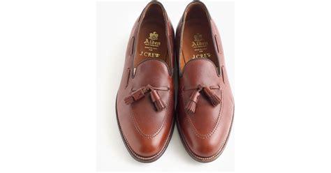 alden loafers sale alden tassel loafers in brown for lyst