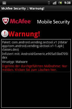 mc mobile security mcafee mobile security mein senf