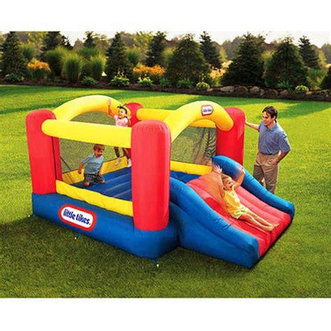 walmart bounce house little tikes jump n slide bouncer walmart com