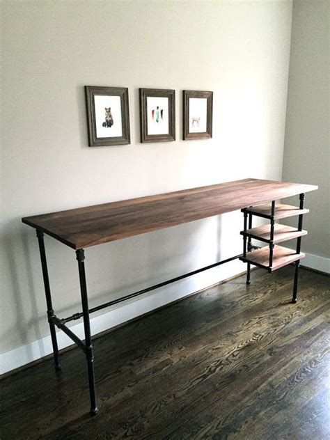 Pipe Standing Desk by Best 25 Pipe Desk Ideas On Industrial Pipe