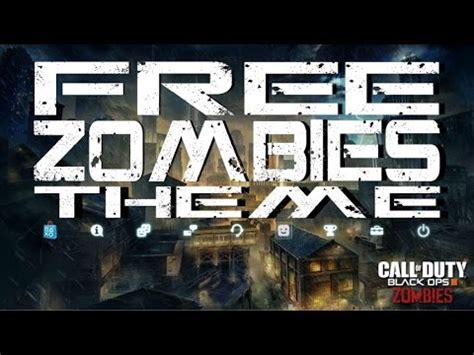 themes ps4 bo3 bo3 zombies free ps4 theme black ops 3 ps4 beta easter