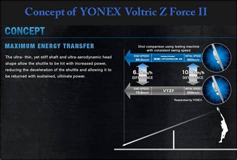 Raket Voltric Z Ii killer yonex voltric z ii khelmart org it s all about sports