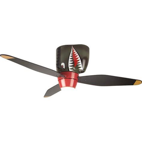 airplane ceiling fan with light p 40 tiger shark warbird airplane ceiling fan airplane