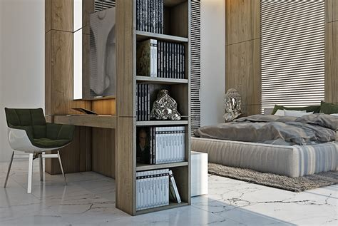 modern shelves for bedroom 4 masculine apartments with super comfy sofas and sleek