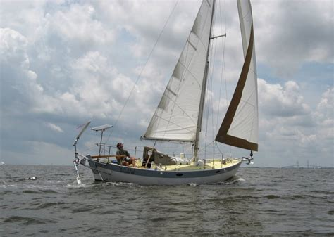 sailboats with two hulls 26 frances frances ii double enders chuck paine yacht