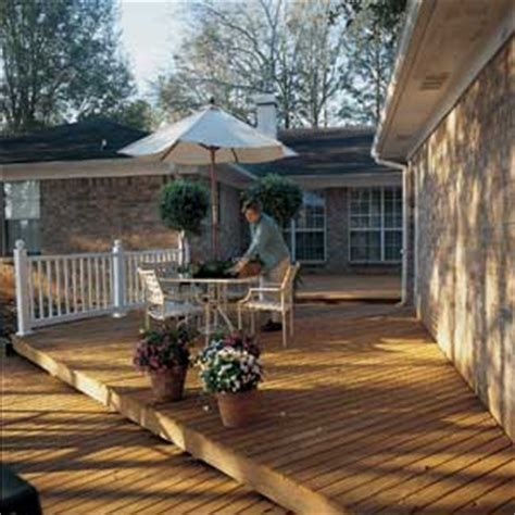 decks on houses go from an old deck to new in 4 steps decks house exterior this old house