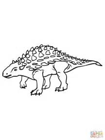 Ankylosaurus Coloring Page Coloring Pages Ankylosaurus Coloring Page