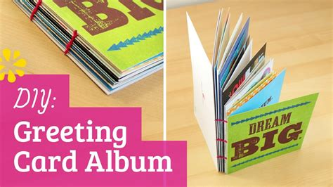 to make a greeting card how to make a greeting card album