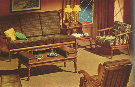 Retro Living Room Set Living Room Furniture Vintage Style Interior Design