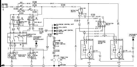 miata drawing mazda miata wiring diagram wiring diagram