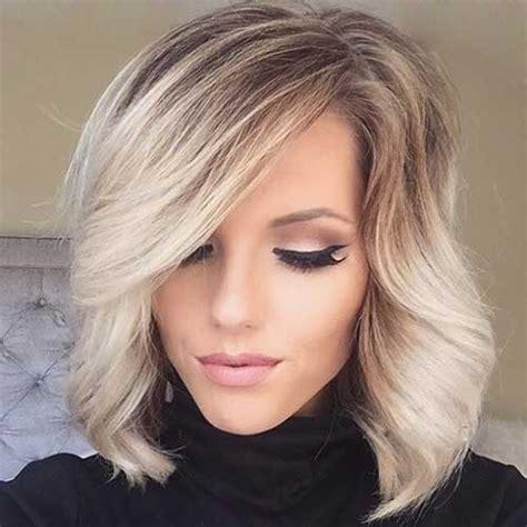 image result for blunt bangs and balayage coiffure coiffures m 232 ches et beaut 233 coupes cheveux mi longs pour cet automne 2017 coiffure simple et facile