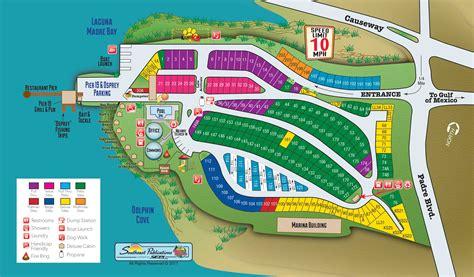 south texas rv parks map south padre island texas cground south padre island koa