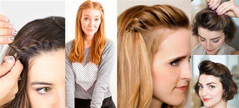 formas de cortar el pelo distintas formas de peinar tu fleco para que no estorbe